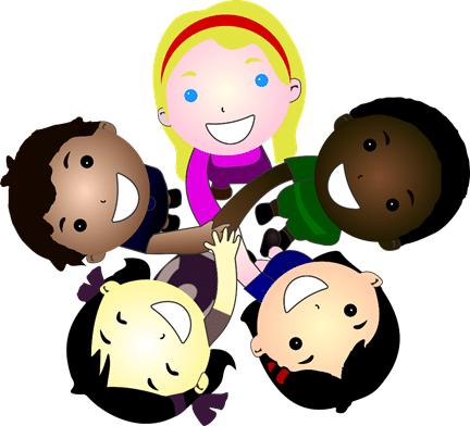Groupe d'enfant qui jous