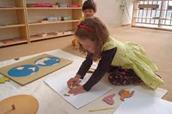 Activités Montessori géographie planisphère