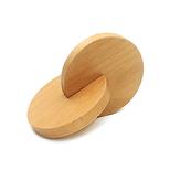 Hochet Disque montessori en bois