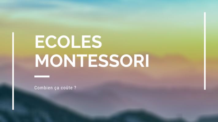 Ecoles Montessori