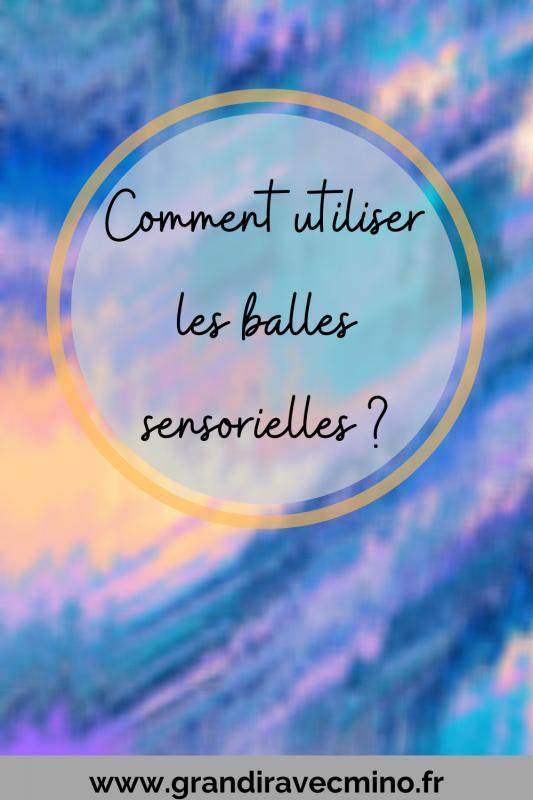 Les Balles Sensorielles Pinterest