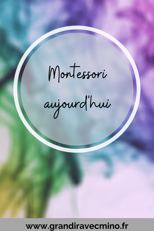 Montessori Aujourd'hui