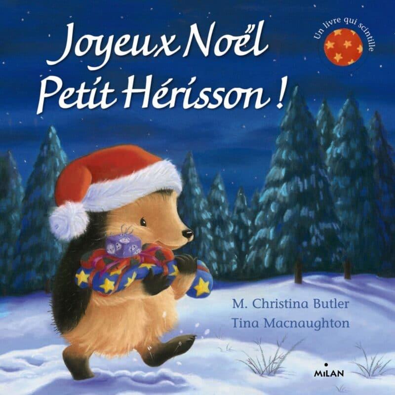 Joyeux noel, Histoire petit herisson, noel sans pere noel, noel partage, noel bonheur