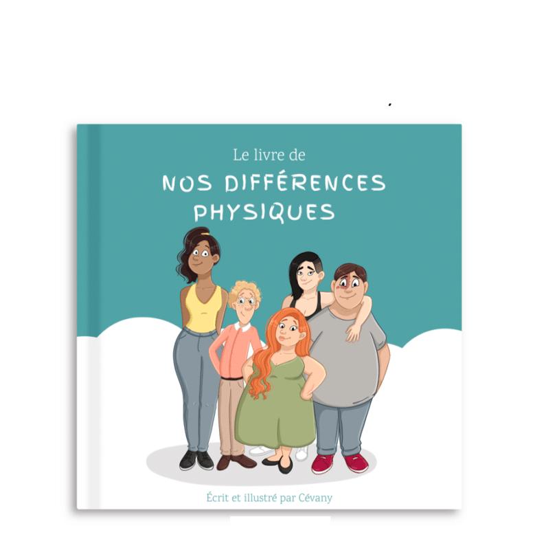 Ailes et graines, cevany, livre différences, livre sur le physique, apprendre les différences, comprendre les différences, pourquoi on est différent, livre 3 ans, livre 4 ans, livre 5 ans, livre corps, livre handicap, histoire bienveillante, éducation positive,