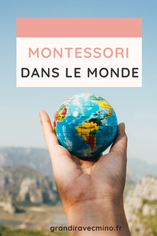 ecoles montessori dans le monde