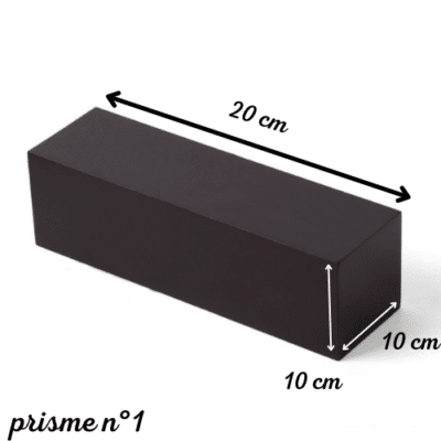 escalier marron montessori prisme plus épais 10cm