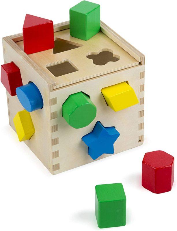 Melissa Doug Shape Sorting Cube - Melissa & Doug