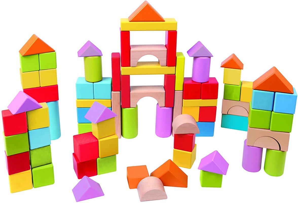 Hape HAP-E8247 Wonderful Beech Blocks - Hape Blocks