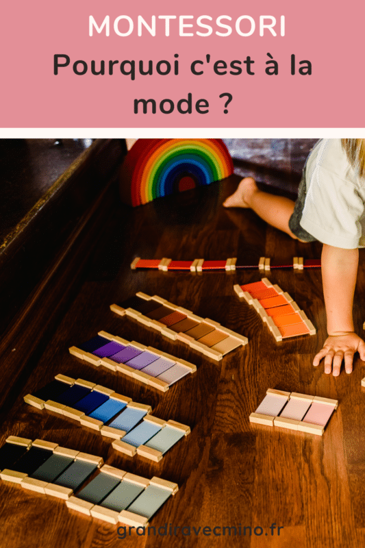 montessori pourquoi c'est la mode ?