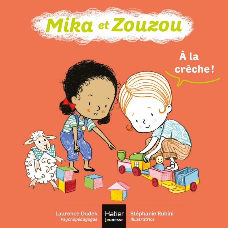Livre Mika et zouzou, a la creche