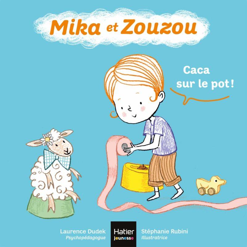 livre mika et zouzou caca sur le pot
