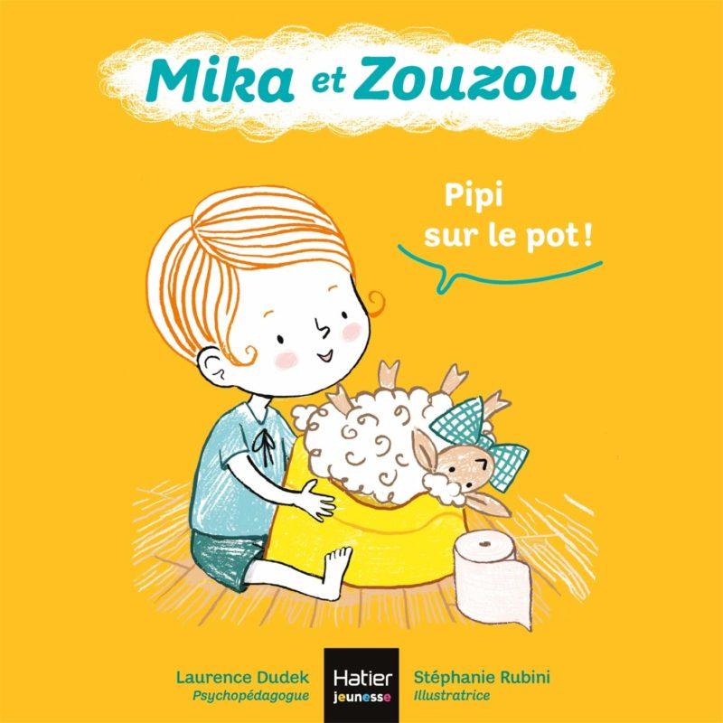 livre mika et zouzou pipi sur le pot