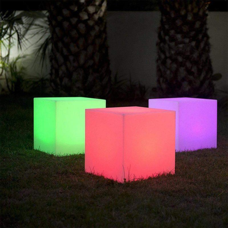 cube lumineux espace snoezelen