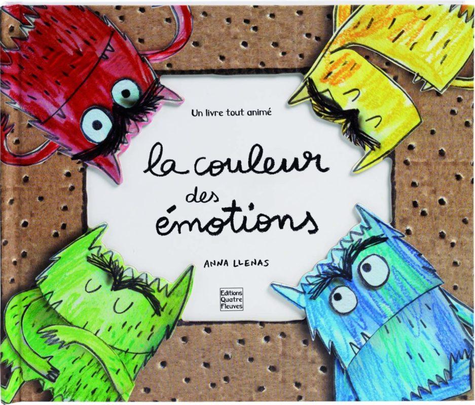 livre pop up la couleur des émotions