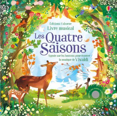 livre musical les 4 saisons vivaldi