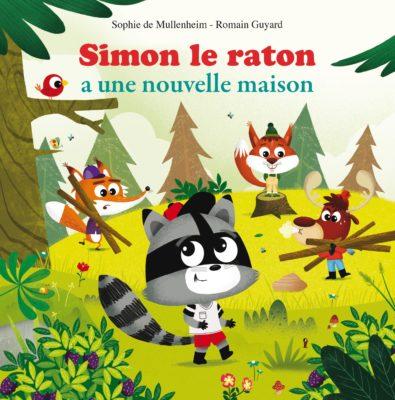 couverture livre résumé simon le raton a une nouvelle maison