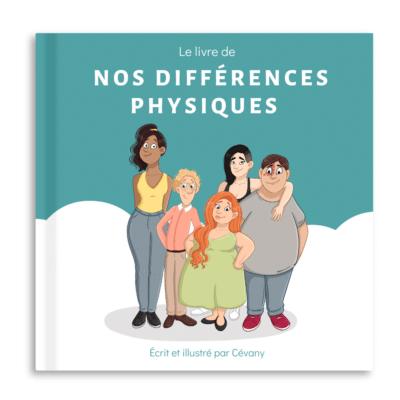 livre nos différences physiques editions ailes et graines