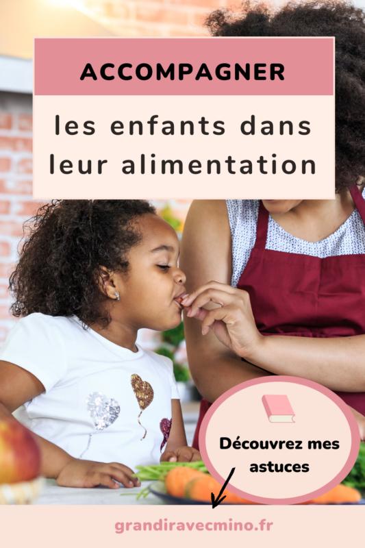 accompagner respectueusement les enfants dans leur alimentation