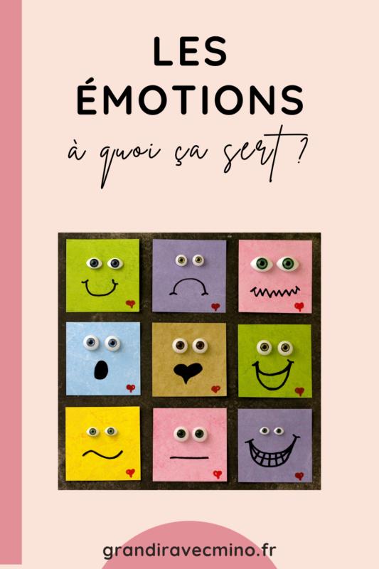 les emotions a quoi ça sert