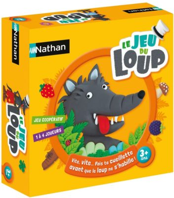 le jeu du loup, jeu coopératif 3 ans nathan