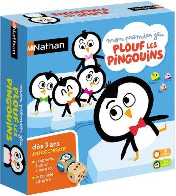 plouf les pingouins jeu coopératif 3 ans